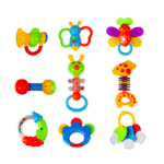 Rattle Teether Baby Set - Gift set | Gift idea